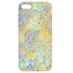 Abstract Earth Tones With Blue  Apple Iphone 5 Hardshell Case With Stand by digitaldivadesigns