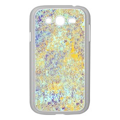 Abstract Earth Tones With Blue  Samsung Galaxy Grand Duos I9082 Case (white)