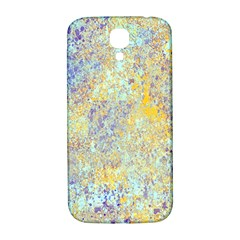 Abstract Earth Tones With Blue  Samsung Galaxy S4 I9500/i9505  Hardshell Back Case by digitaldivadesigns
