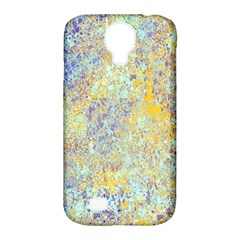 Abstract Earth Tones With Blue  Samsung Galaxy S4 Classic Hardshell Case (pc+silicone) by digitaldivadesigns