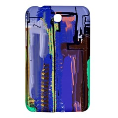Abstract City Design Samsung Galaxy Tab 3 (7 ) P3200 Hardshell Case  by digitaldivadesigns