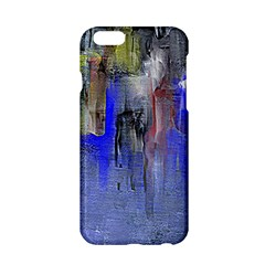 Hazy City Abstract Design Apple Iphone 6 Hardshell Case by digitaldivadesigns