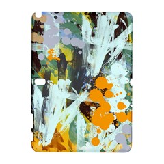 Abstract Country Garden Samsung Galaxy Note 10 1 (p600) Hardshell Case