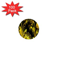 Fractal Marbled 15 1  Mini Buttons (100 Pack)