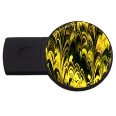 Fractal Marbled 15 Usb Flash Drive Round (2 Gb)  by ImpressiveMoments