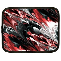 Fractal Marbled 8 Netbook Case (xxl)  by ImpressiveMoments