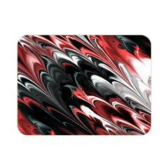 Fractal Marbled 8 Double Sided Flano Blanket (mini)