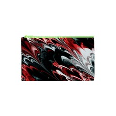 Fractal Marbled 8 Cosmetic Bag (xs)