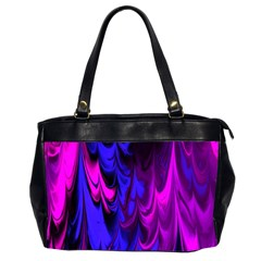 Fractal Marbled 13 Office Handbags (2 Sides)  by ImpressiveMoments
