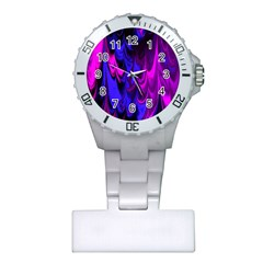 Fractal Marbled 13 Nurses Watches by ImpressiveMoments