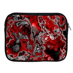 Fractal Marbled 07 Apple Ipad 2/3/4 Zipper Cases by ImpressiveMoments