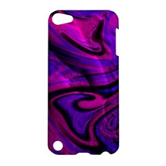 Wet Wallpaper, Pink Apple Ipod Touch 5 Hardshell Case by ImpressiveMoments