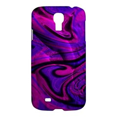 Wet Wallpaper, Pink Samsung Galaxy S4 I9500/i9505 Hardshell Case by ImpressiveMoments