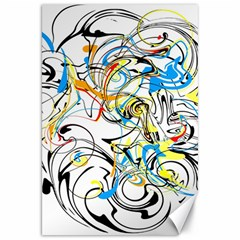 Abstract Fun Design Canvas 20  X 30