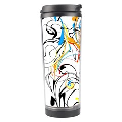 Abstract Fun Design Travel Tumblers by digitaldivadesigns