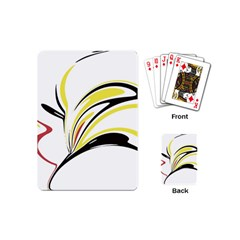Abstract Flower Design Playing Cards (mini)