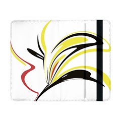 Abstract Flower Design Samsung Galaxy Tab Pro 8 4  Flip Case by digitaldivadesigns