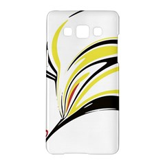 Abstract Flower Design Samsung Galaxy A5 Hardshell Case  by digitaldivadesigns
