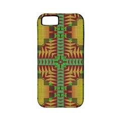 Tribal Shapes Pattern Apple Iphone 5 Classic Hardshell Case (pc+silicone)