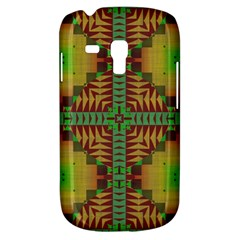 Tribal Shapes Pattern Samsung Galaxy S3 Mini I8190 Hardshell Case by LalyLauraFLM
