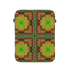 Tribal Shapes Pattern Apple Ipad 2/3/4 Protective Soft Case