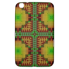 Tribal Shapes Pattern Samsung Galaxy Tab 3 (8 ) T3100 Hardshell Case  by LalyLauraFLM