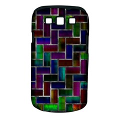 Colorful Rectangles Pattern Samsung Galaxy S Iii Classic Hardshell Case (pc+silicone) by LalyLauraFLM