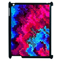 Psychedelic Storm Apple Ipad 2 Case (black) by KirstenStar