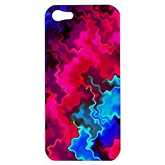 Psychedelic Storm Apple Iphone 5 Hardshell Case by KirstenStar