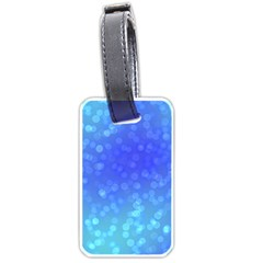 Modern Bokeh 8 Luggage Tags (one Side)  by ImpressiveMoments