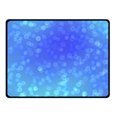 Modern Bokeh 8 Double Sided Fleece Blanket (small)