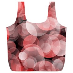 Modern Bokeh 10 Full Print Recycle Bags (l)  by ImpressiveMoments