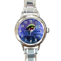 Waterfall Tears Round Italian Charm Watches by icarusismartdesigns