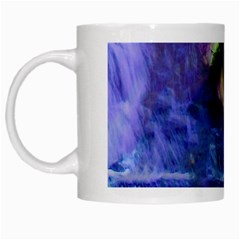 Waterfall Tears White Mugs by icarusismartdesigns
