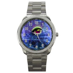 Waterfall Tears Sport Metal Watches by icarusismartdesigns