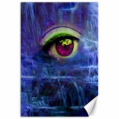 Waterfall Tears Canvas 20  X 30   by icarusismartdesigns