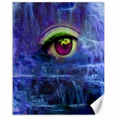 Waterfall Tears Canvas 11  X 14   by icarusismartdesigns