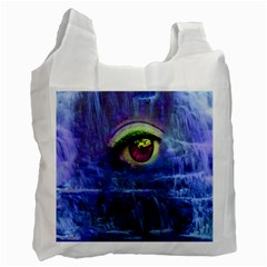 Waterfall Tears Recycle Bag (two Side)  by icarusismartdesigns