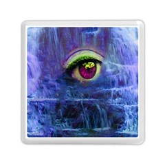 Waterfall Tears Memory Card Reader (square)  by icarusismartdesigns