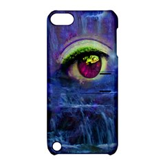 Waterfall Tears Apple Ipod Touch 5 Hardshell Case With Stand by icarusismartdesigns