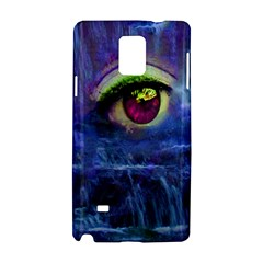 Waterfall Tears Samsung Galaxy Note 4 Hardshell Case by icarusismartdesigns