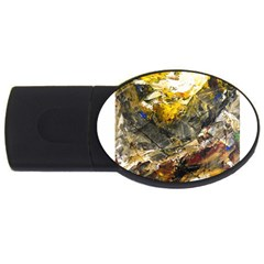 Surreal Usb Flash Drive Oval (2 Gb)  by timelessartoncanvas