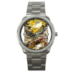 Surreal Sport Metal Watches by timelessartoncanvas