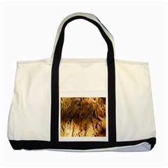Sago Palm Two Tone Tote Bag  by timelessartoncanvas