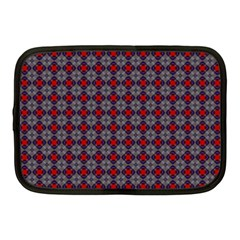 Cute Pretty Elegant Pattern Netbook Case (medium)  by creativemom