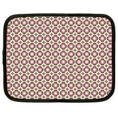 Cute Pretty Elegant Pattern Netbook Case (xxl)  by creativemom