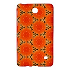 Cute Pretty Elegant Pattern Samsung Galaxy Tab 4 (7 ) Hardshell Case  by creativemom