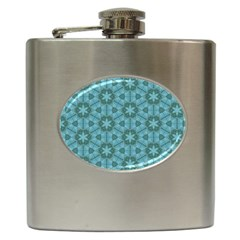 Cute Pretty Elegant Pattern Hip Flask (6 Oz) by creativemom
