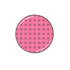 Cute Pretty Elegant Pattern Hat Clip Ball Marker (10 Pack)