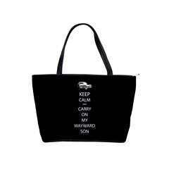 Carry On Centered Shoulder Handbags by TheFandomWard